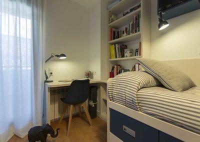 reforma habitación infantil en vivienda montecarmelo