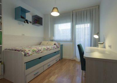 decoración habitación juvenil Montecarmelo