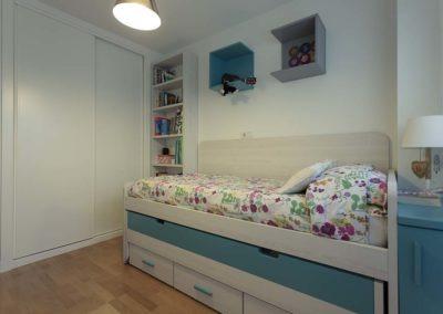 reforma habitación juvenil Montecarmelo
