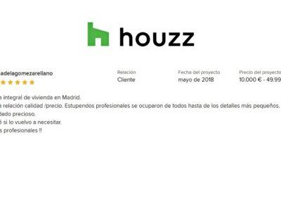 Reforma vivienda Arturo Soria Madrid Nala Studio valoración del cliente