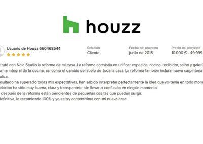 reforma vivienda Montecarmelo Nala Studio valoración cliente