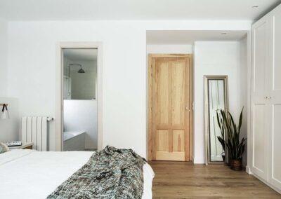 Reforma integral de chalet en Pozuelo dormitorio pincipal