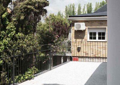 Reforma integral de chalet en Pozuelo terraza con terrazo