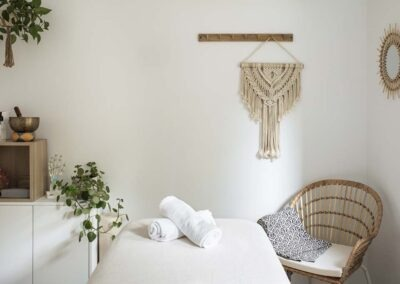 Reforma integral de chalet en Pozuelo sala de masajes