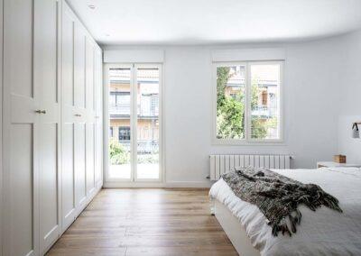 Reforma integral de chalet en Pozuelo dormitorio principal
