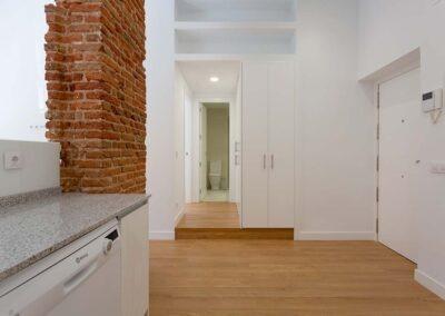 Reforma integral de apartamento para alquilar Nala Studio